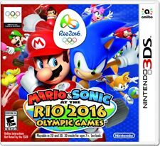 Mario & Sonic At The Rio 2016 Olympic Games 3DS New Nintendo 3DS, Nintendo 3DS