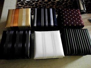 Krawattenset in Geschenkbox 100% Seide handgefertigt NEU