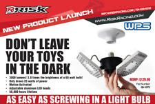 STRIKER Motion Activated Garage LED Light TriLight Triple Sided 3000 Lumens 0342