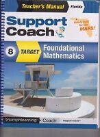 Support Coach Target Foundational Mathematics Florida TE Gr 8 2014 (E1-74)