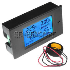 100A LCD Digital Volt Watt Current Power Meter Ammeter Voltmeter Meter+Shunt