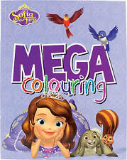 Disney Junior Sofia the First Mega Colouring by Parragon Books Ltd (Paperback)