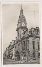 Cumbria postcard - Town Hall, Kendal - RP (A396)