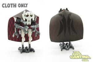 for LEGO Star Wars Minifigure General Grievous Royal Custom Cape Cloth Lot Set