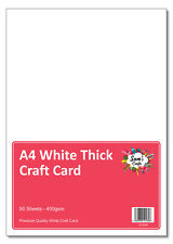 Red Smooth THICK Card 450gsm solid colour A5 to B1 size