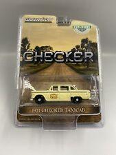 1:64 Greenlight 1971 Checker Taxicab, Checker, #30182