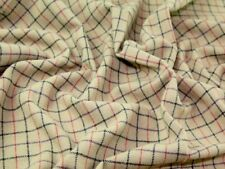 Check Heavy Wool Coating Fabric (50.D-5209-M)