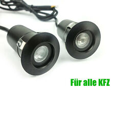 2x Tür Licht LED Logo Projektor Einstiegsbeleuchtung für alle KFZ Universal Neu