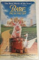 Babe-Pig in the City [VHS 1999]TESTED-RARE VINTAGE COLLECTIBLE-SHIPS N 24 HOURS