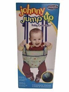 Evenflo Johnny Jump Up Baby Exerciser Doorway Hanger Metal Frame/Clamp Toy Loops