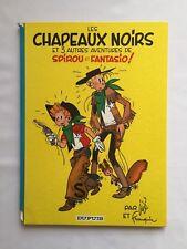 SPIROU ET FANTASIO LES CHAPEAUX NOIRS T 3 / BD 1966 / FRANQUIN JIJE / DUPUIS