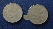 Coin Collection - 50c ERROR Republic of the Philippines coin