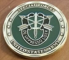 Special Forces Sniper GREEN BERET US Army De Oppresso Liber Faithful and True