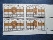 New ListingNy Metropolitan Opera: U. S. Stamp Set #2054