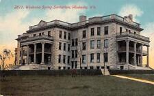 WAUKESHA, WI  Wisconsin    WAUKESHA SPRING SANITARIUM      c1910's Postcard