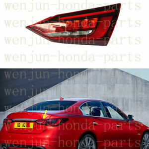 Right Inner Side Tail Light Brake Lamp Assembly LED For Infiniti Q50 2017-2019