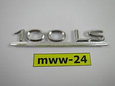 original Audi 100 LS C1 Schriftzug Emblem 803853745