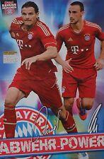DANIEL VAN BUYTEN & DIEGO CONTENTO - A3 Poster (42 x 28 cm) - Fußball Clippings