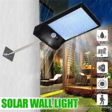 Waterproof 36 LED Solar Wall Street Light PIR Motion Sensor Outdoor Garden Lamp