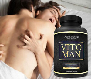 Vitoman Stärkste Herbal Sexpillen Libido & Erektion Potenzpillen Potenzmittel