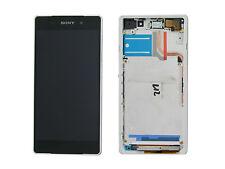 Genuine Sony D6502, D6503 Xperia Z2 White LCD Screen & Digitizer - 1281-8359