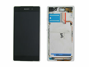 Genuine Sony D6502, D6503 Xperia Z2 White LCD Screen & Digitizer - 1281-8359