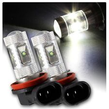 H11 LED HID White CREE Bulbs Globe Toyota Aurion Fog Light Camry Corolla