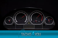 Tachoscheibe für BMW Tacho E46 Benzin oder Diesel M3 Schwarz 3093 Tachoscheiben