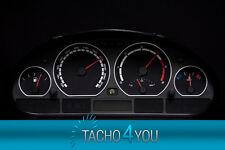 Disco TACHIMETRO PER BMW e46 Tachimetro Benzina o Diesel m3 NERO 3093 TACHIMETRO
