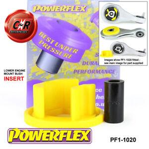 PF1-1020 Powerflex Fits Alfa Romeo 4C (2013-) Lower Engine Mount Bush Insert