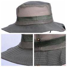Boonie Bucket Hat Fisherman Wide Brim Safari Hiking Cap Cotton Sun Cool Masraze