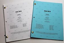 Mad Men * 2x DIFFERENT 2012 TV Script DRAFTS * Jon Hamm * Season 6, Episode 11