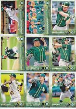 2015 Topps 1 & 2 Oakland Athletics Complete Team Set 23 Cards + 4 Bowman Vets