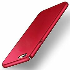 """360 Degree"" Sleek Rubberised Matte Hard Case Back Cover For OPPO F1S Red"