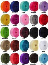 "5 Yards Rolled up 7/8"" GROSGRAIN Ribbon 100% Polyester Choose Color"
