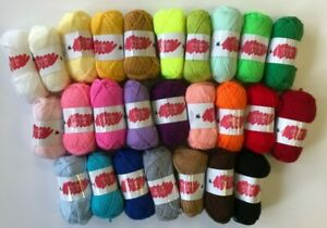 CYGNET DK Little Ones Double Knitting Wool Yarn Crochet Toys Crafts 25g Small