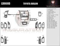 Dash Trim Kit for TOYOTA AVALON 95 96 97 98 99 carbon fiber wood aluminum