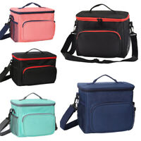 Childrens Adult Kids Picnic Lunch Bag Cool Bag School Insulated Bags Portable