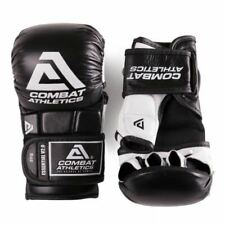Combat Athletics Pro MMA Sparring Gloves Adult 6oz 8oz Grappling Fight Gloves