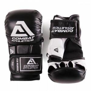 Combat Athletics Pro MMA Sparring Gloves Adult 6oz 8oz Grappling Fight Gloves