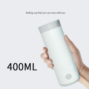 Portable Kettle Mini Travel Electric Kettle Automatic Heating Cup Boiler 400ml