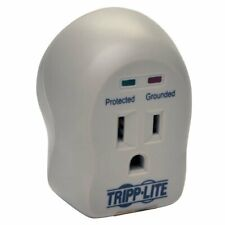 Tripp Lite Spikecube Series 1-Outlet Personal Surge Protector Wall Tap