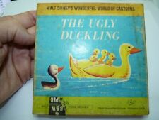 Vintage Walt Disney Super 8 Home Movies, 8 mm B&W Film, The Ugly Duckling
