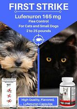 Flea Control for Cats and Dogs 2 to 25 pounds 24 Flavored Capsules