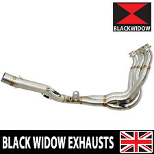 GSX-R GSXR 1000 2012 2013 2014 2015 2016 L2-L6 EXHAUST RACE DOWN PIPES DE CAT