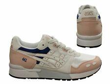 Asics Gel-Lyte Mujer Zapatillas Con Cordones Correr Entrenamiento Blanco HY763 1701 Q8G
