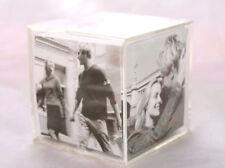 5 Fotowürfel Bilderrahmen aus Acryl für 6 Fotos 6,0x6,0