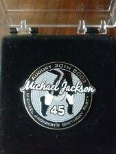 Michael Jackson Original 45th Birthday Party Pin in Box