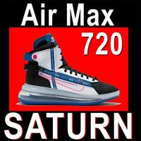"NIKE AIR MAX 720 SATURN ""ROYAL BLUE"" MEN'S FUTURE SHOES SATRN AO2110-101 10.5"