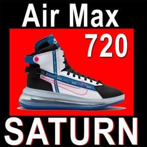 "NIKE AIR MAX 720 SATURN ""ROYAL BLUE"" MEN'S FUTURE SHOES SATRN AO2110-101 10.5"